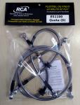 Flexível de Freio (aeroquip), Dianteiro (kit) - ES1100 QuotaFD_ES1100