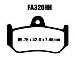 Pastilha de Freio Traseira Sinterizada EBC HH - F4 1000 (todos os modelos) (2004 a 2006)FA320HH