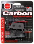 Pastilha de Freio Traseira Carbon Off Road, Fischer - WR450F (2003 em diante)fj1910c