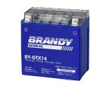 Bateria 100% Gel Brandy - TRX 500 FA Fourtrax    BY-GTX14_0280