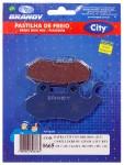 Pastilha de Freio Dianteira Orgânica Brandy - Citycom 300i (2010 a 2020)brandy_0665