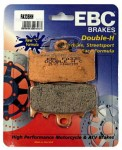 Pastilha de Freio Dianteira Sinterizada EBC HH - R1200S K29_0366, pinças Brembo (2006 a 2008)FA335HH