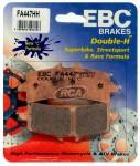 Pastilha de Freio Dianteira Sinterizada EBC HH - GSX-R 600 (2012 em diante)FA447HH