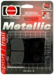 Pastilha de Freio Traseira Fischer Metallic - TDM850 (1991 a 2001)fj1010m