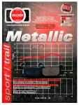 Pastilha de Freio Traseira Fischer Metallic - SX65 (2004 em diante)fj1990m