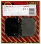 Pastilha de Freio Dianteira Fischer Metallic - GL1000 K1-K2 (1975 a 1977)fj745m