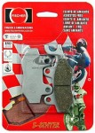 Pastilha de Freio Dianteira Direita S-Sinter Fischer - KLF300 C1-C12 Bayou (1989 em diante)fj950ss
