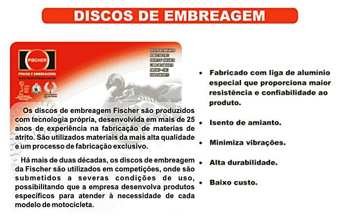 descrição - jogo disco embreagem Fischer